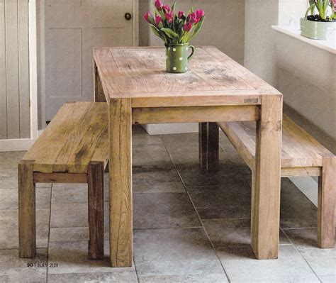 rustic kitchen table for the home