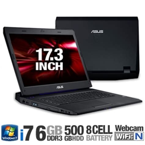 Notebook Asus Gamer G73jh I7 6gb Hd 500gb asus g73jh rbbx05 17 3 inch gaming laptop review