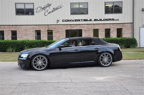 chrysler 300 convertible conversion drop top customs convertible dodge charger and chrysler