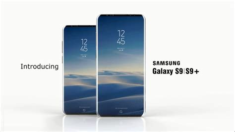 samsung galaxy s9 s9 concept specifications release date
