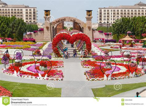florist jobs in dubai miracle garden editorial stock photo image 52844908