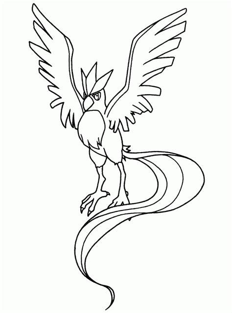 Free Printable Legendary Bird Pokemon Coloring Pages Plus Free Printable Legendary Coloring Pages