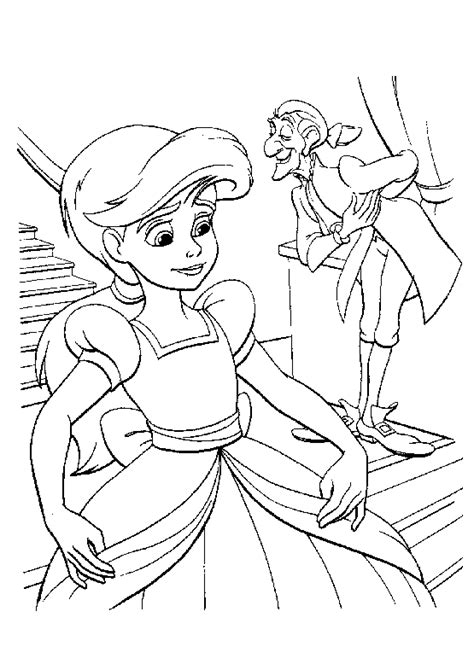 coloring pages the little mermaid 2 free coloring pages of little mermaid melody