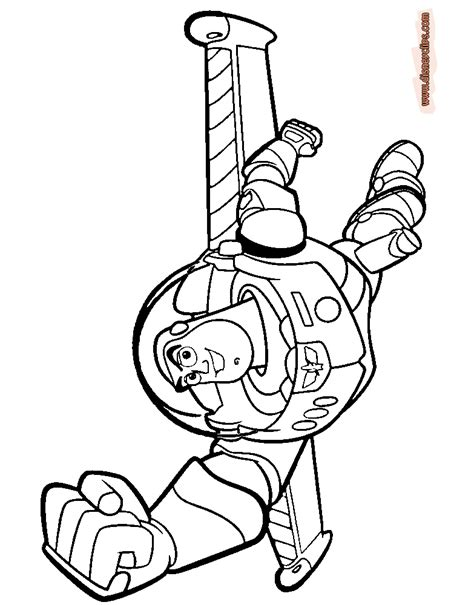 Toy Story Printable Coloring Pages Disney Coloring Book Buzz Colouring Pages