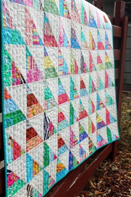 To The Point: A Quick n? Easy Jelly Quilt Tutorial