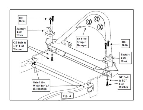 smittybilt stinger tj wiring diagrams wiring diagram schemes