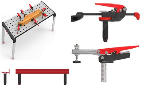 bench press accessory work craftsman cling and assembly table