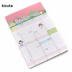 Desk Diary Planner by Get Cheap Yearly Wall Planner Aliexpress