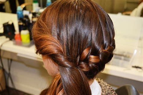 images of step by step hairbraid on popdugar this plaited bun can be yours in 5 easy steps popsugar