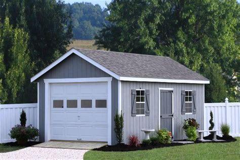 home depot garage kits  single shed prefab garages