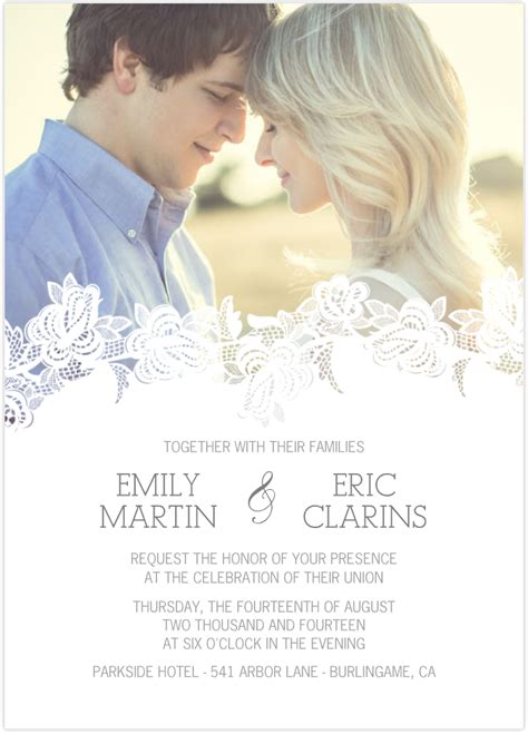 photo wedding invitations 25 fantastic wedding invitations card ideas