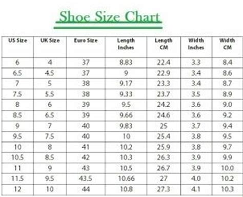 shoes size chart pakistan to uk what is the equivalent indian shoe size for the uk size 8