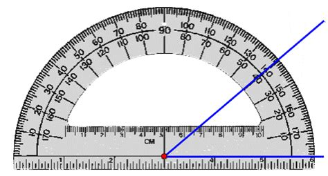 Drawing 40 Degree Angle by Measuring Arcs And Angles Iheartgeo