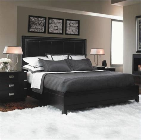 Black Bedroom Furniture Ideas How To Decorate A Bedroom With Black Furniture 5 Steps For Edgy Space Home Improvement Day