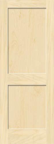 Birch Interior Doors Birch Mission 2 Panel Wood Interior Doors Homestead Doors
