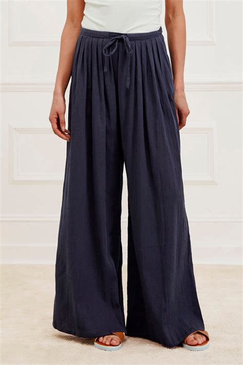 Wide Leg 4 Great Finds For The Look by Afrika Cotton Wide Leg Trousers Hats Great Plains