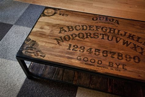 ouija coffee table furnishings bughouse
