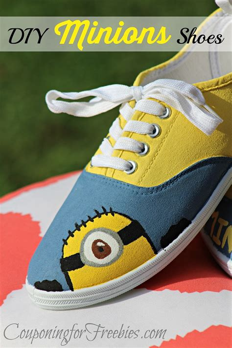 diy minion shoes minions shoes diy