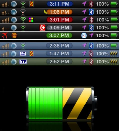 themes color status bar allcolor status bar 6 theme
