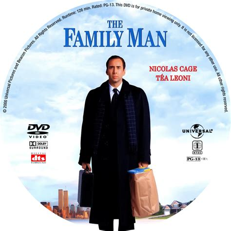 family man the family man custom dvd labels the family man 2000