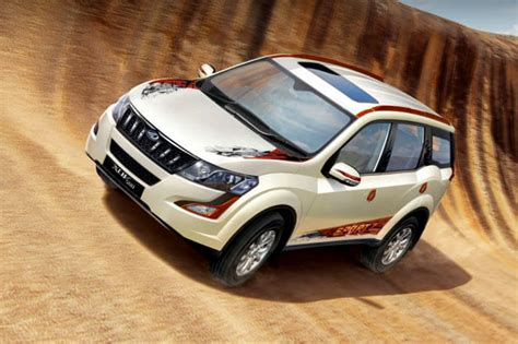 mahindra 500 xuv mahindra xuv500 sportz edition launched at rs 16 6 lakh
