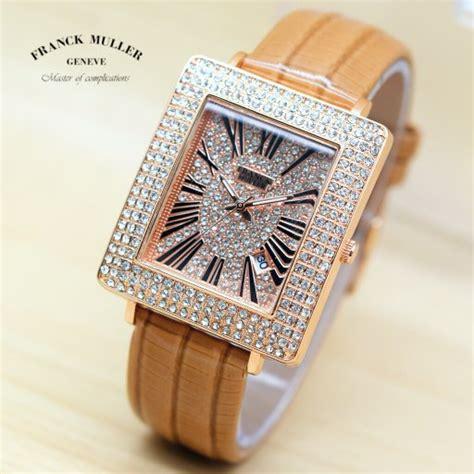 Jam Tangan Wanita Cewek Franck Muller Kulit Putih jual jam tangan wanita cewek franck muler fm date tali kulit b7 di lapak cheryl