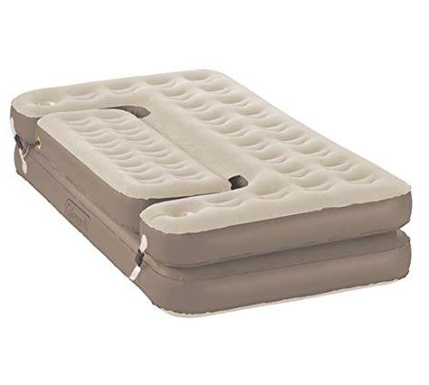 compare price coleman raised air mattress on