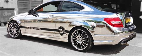 Chrom Lackieren Kosten by Bling Wraps Chrome Car Wrapping In Manchester