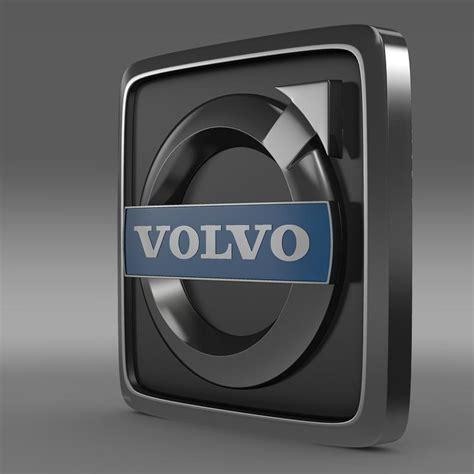 volvo trucks logo volvo truck logo 3d model max 3ds fbx c4d lwo lw