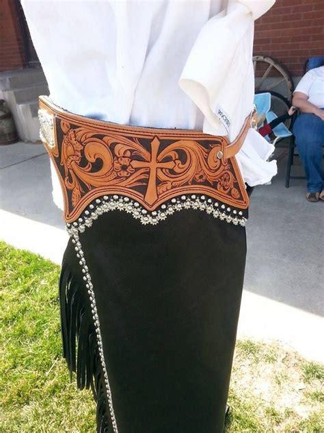 Handmade Cowboy Chaps - reining chaps custom reining show chaps jb custom