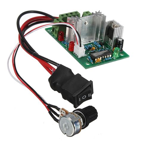 dc motor with speed pwm dc motor speed switch controller reversible