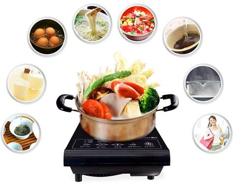 mini induction cooker malaysia gte multifunction mini touch screen 1 hob induction cooker lazada malaysia