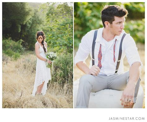 love from star couple become rivals outside the show bohemian wedding inspiration sabrina cody jasmine star
