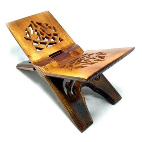 jual rehal meja lipat kayu tatakan rekal baca al quran
