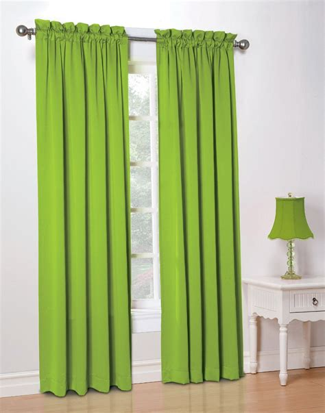 Lime Green Curtains Lime Green Curtain Panels Home Design Ideas