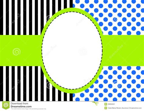 striped pears and polka dots the of being happy books polka dots and stripes frame stock illustration image