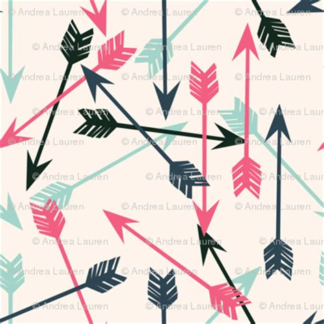 girly arrow wallpaper arrows scattered off white pink mint and navy girly