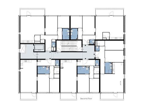 senior housing floor plans aeccafe archshowcase