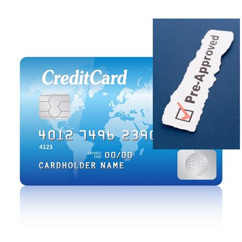 Pre Approval Letter Credit Card pre approved credit cards
