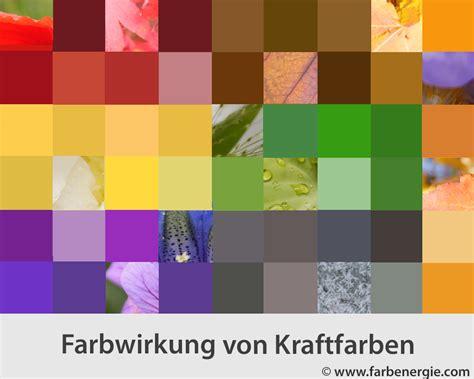 Farbe Im Raum by Farbpsychologie Kraftfarben Und Ihre Wirkung
