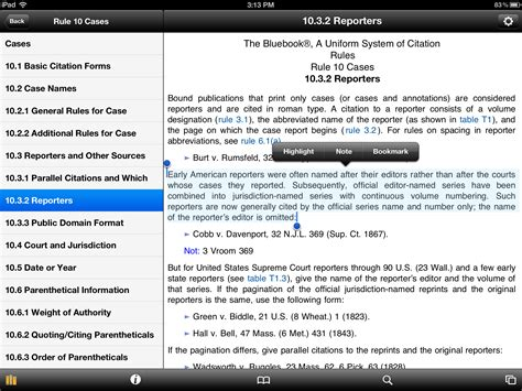 footnote format bluebook get the blue book on your ipad or iphone third apple