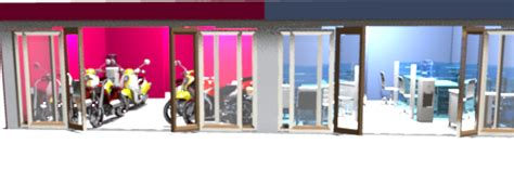 desain meja pendaftaran desaingodho desain toko kantor simple dan mewah dealer