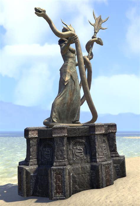 eso fashion vaermina statue elder scrolls