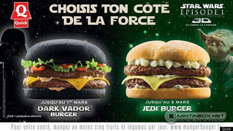 dark vador burger part of star wars episode i