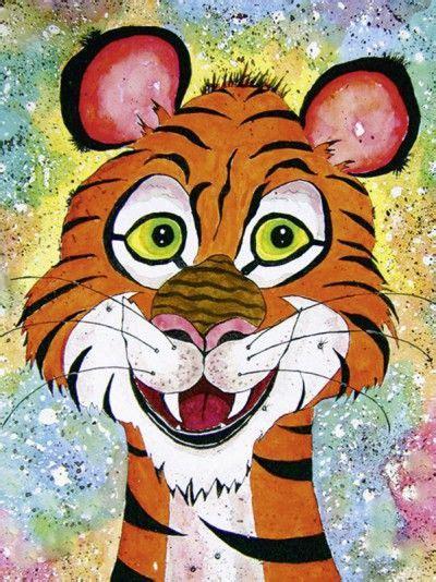 bild kinderzimmer tiger siegfried2838 tiger tony tiere zeichnungen gemalt