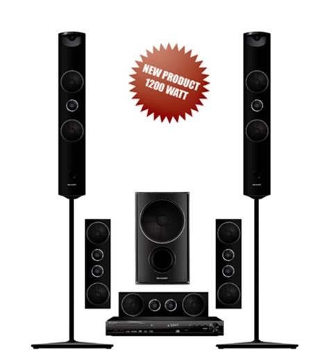 Baru Home Theater Sharp sharp new ht cn1203dvwl neo qwanza home theater 1200w rms theatre cn1203dvwl kaskus archive