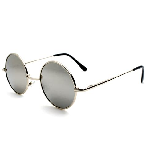 Mirrored Sunglasses metal mirrored sunglasses in silver
