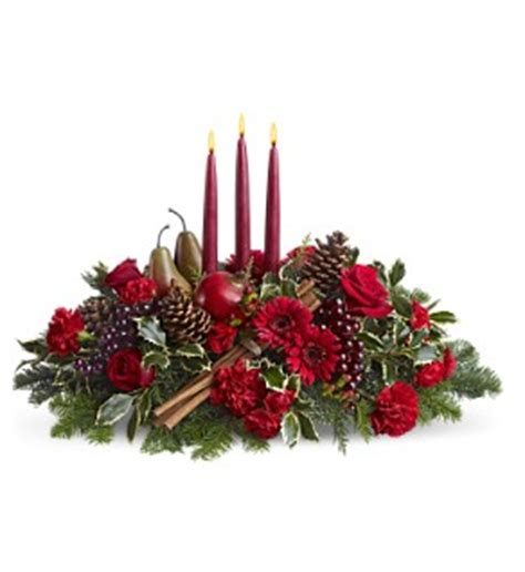 christmas centerpieces delivered fresh flowers delivered