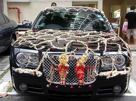 Wedding Car Decor   Bridal Car Decor   Wedding Car