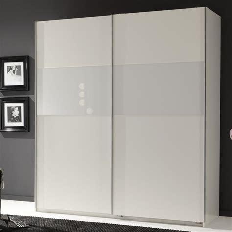 armadio bianco armadio linaria bianco e vetro bianco con ante scorrevoli
